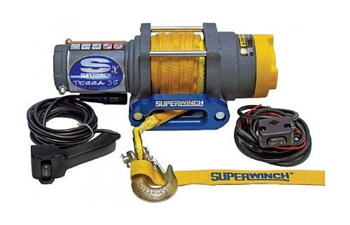Лебедка ATV SuperWinch Terra 35 стальной трос