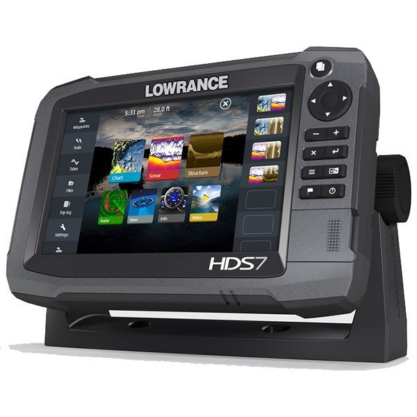 Lowrance HDS-7 Gen3 ROW with StructureScan Transducer