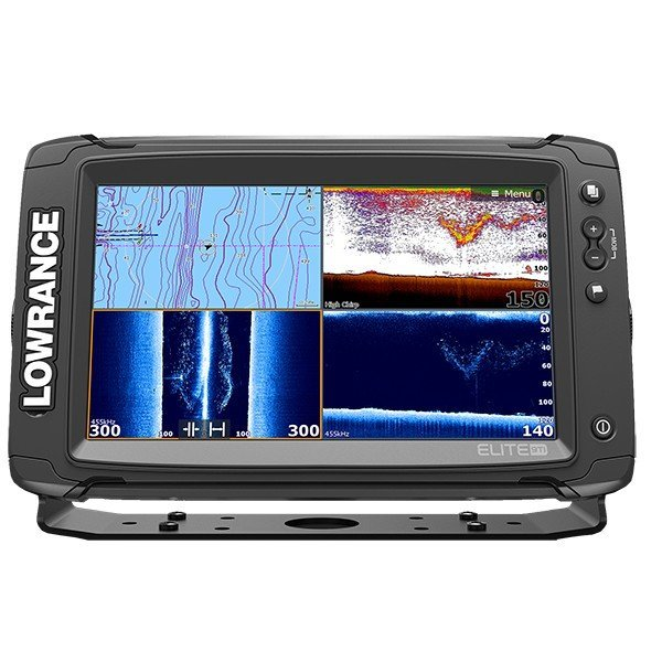 Lowrance Elite-9Ti Mid/High/TotalScan™