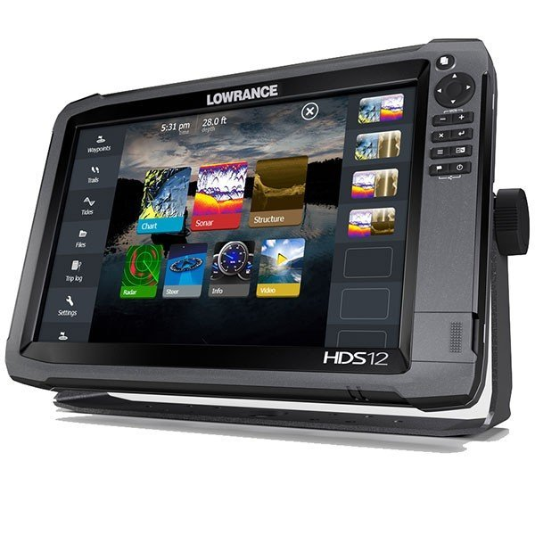 Lowrance HDS-12 Gen3 ROW with StructureScan Transducer