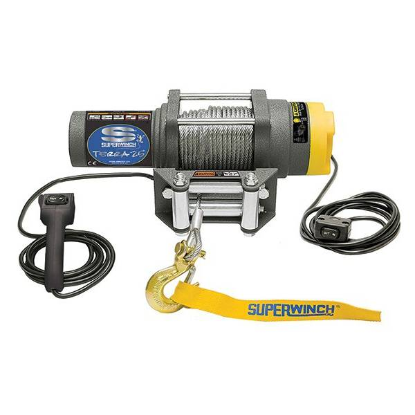 Лебедка ATV SuperWinch Terra 25 стальной трос
